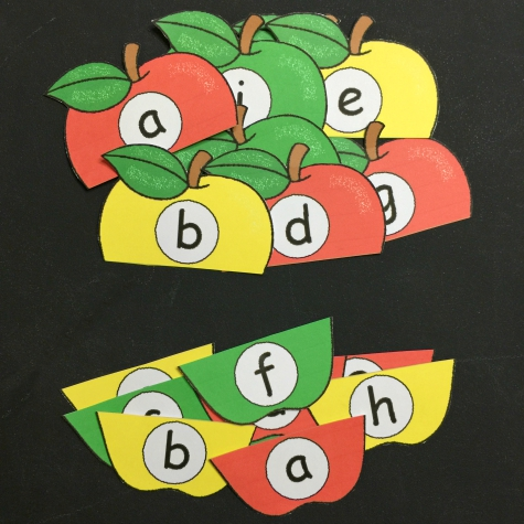 Apple Puzzle Printable Apple Alphabet Puzzles For