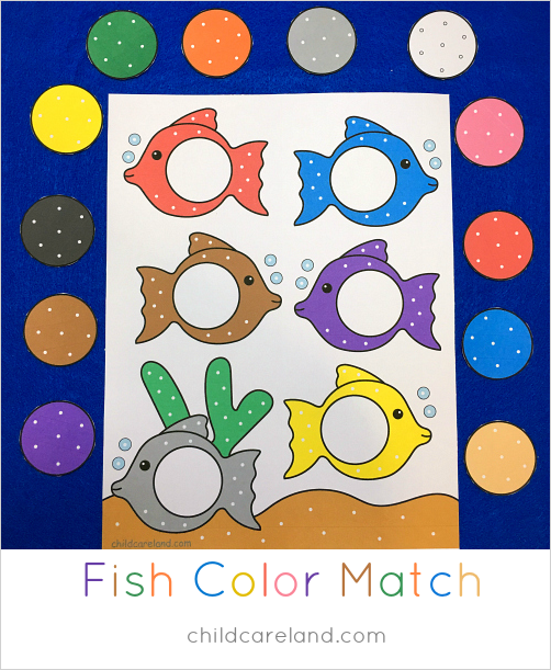 fish color match