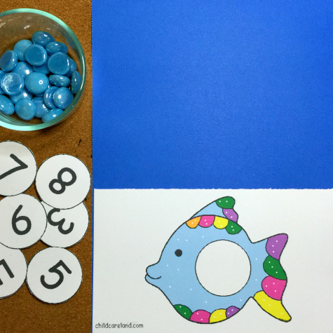 Rainbow Fish Math Center