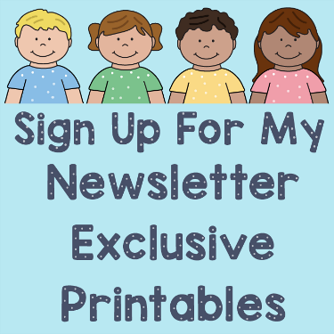 sign up for my newsletter exclusive printables