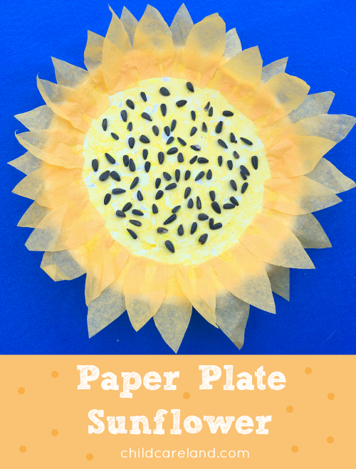 Paper Plate Sunfower Art Project For Preschool and Kindergarten  sc 1 st  Childcareland & ppsf_orig.png