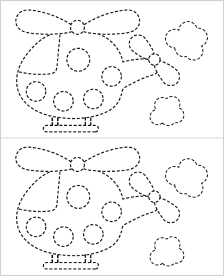 fine motor tracing sheet download