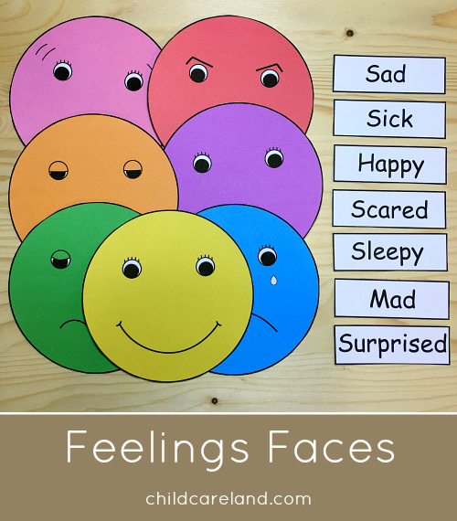 Feelings Arts And Crafts Preschool