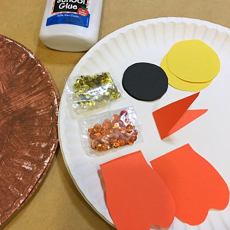 paper plate owl craft project for preschol and kindergarten
