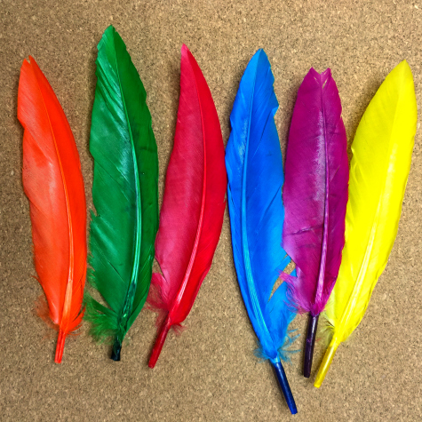 Feather and Bead Lacing Fine Motor Development For Preschool and Kindergarten