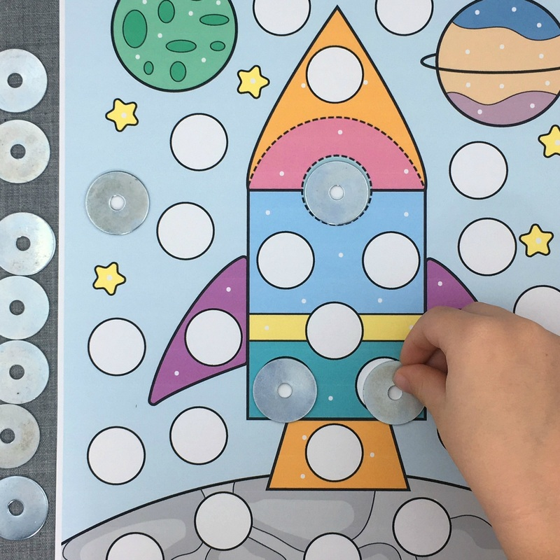 fine motor cover-ups download for preschool and kindergarten