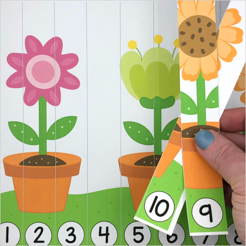 flower number sequence puzzle