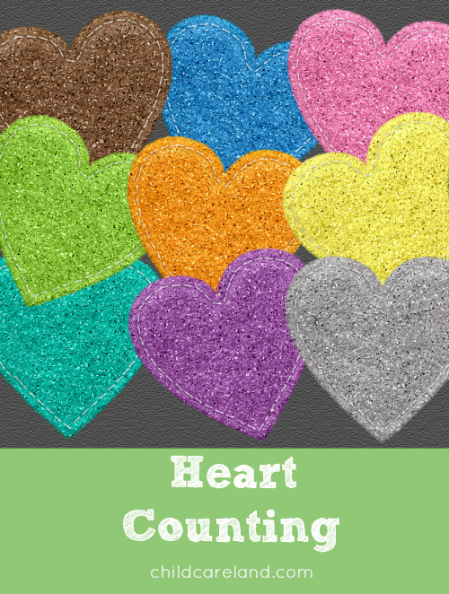 heart counting for preschool and kindergarten