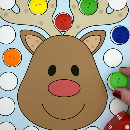 reindeer cover-up for preschool and kindergarten