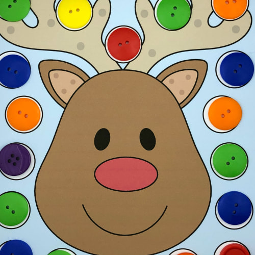 reindeer roll and cover for preschool and kindergarten