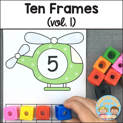 ten frames vol. 1 download for preschool and kindergarten