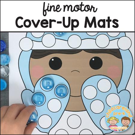 fine motor cover-up mats download for preschool and kindergarten