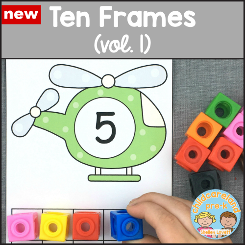 letter and number sequence mats for preschool and kindergarten