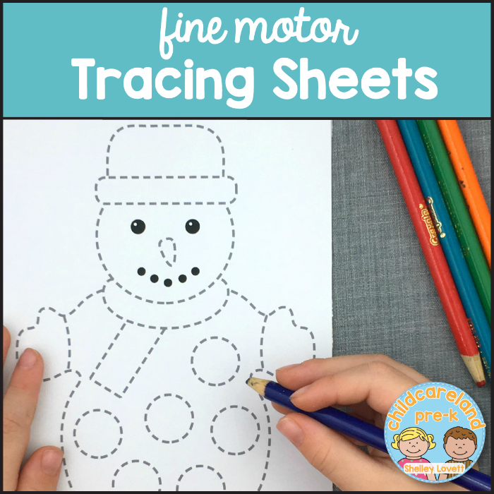 fine motor tracing sheets download for preschool and kindergarten